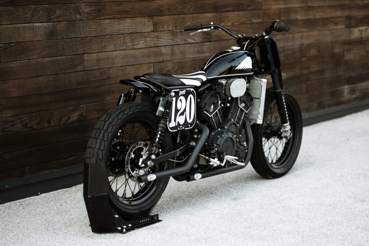 Custom Indian Scout Sixty