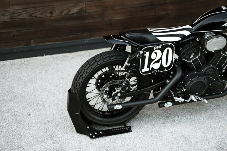 Custom Indian Scout Sixty 9