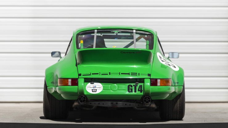 Custom Porsche 911 Race Car Back