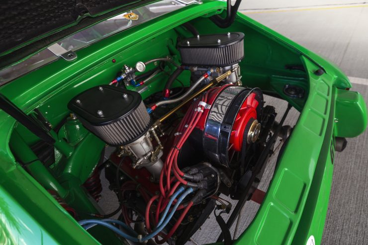 Custom Porsche 911 Race Car Engine