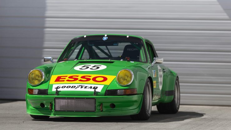 Custom Porsche 911 Race Car Front 2
