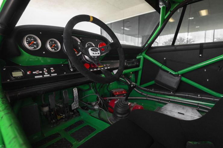Custom Porsche 911 Race Car Interior