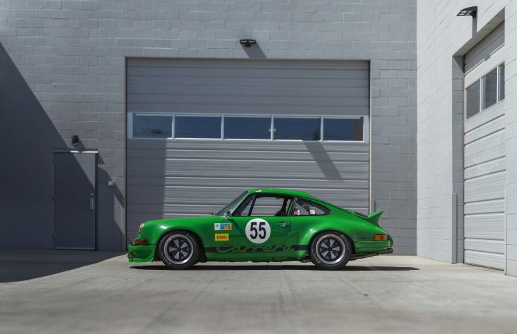 Custom Porsche 911 Race Car Left Side