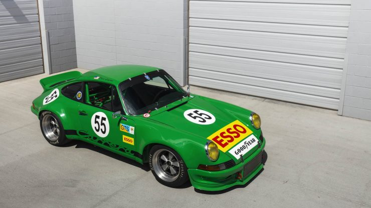 Custom Porsche 911 Race Car Overhead