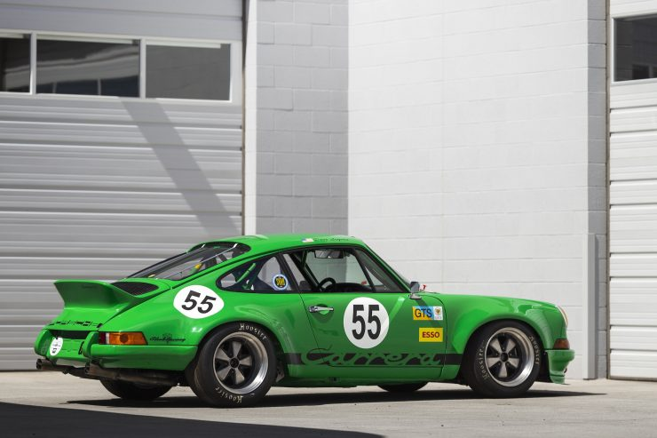 Custom Porsche 911 Race Car Rear Right