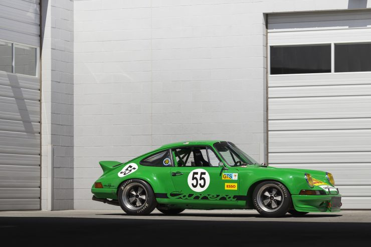 Custom Porsche 911 Race Car Right Side 2