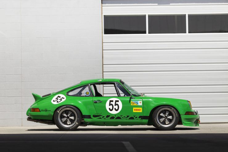 Custom Porsche 911 Race Car Right Side