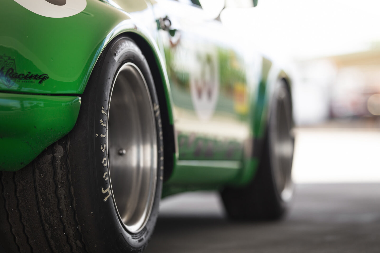 Custom Porsche 911 Race Car Wheels