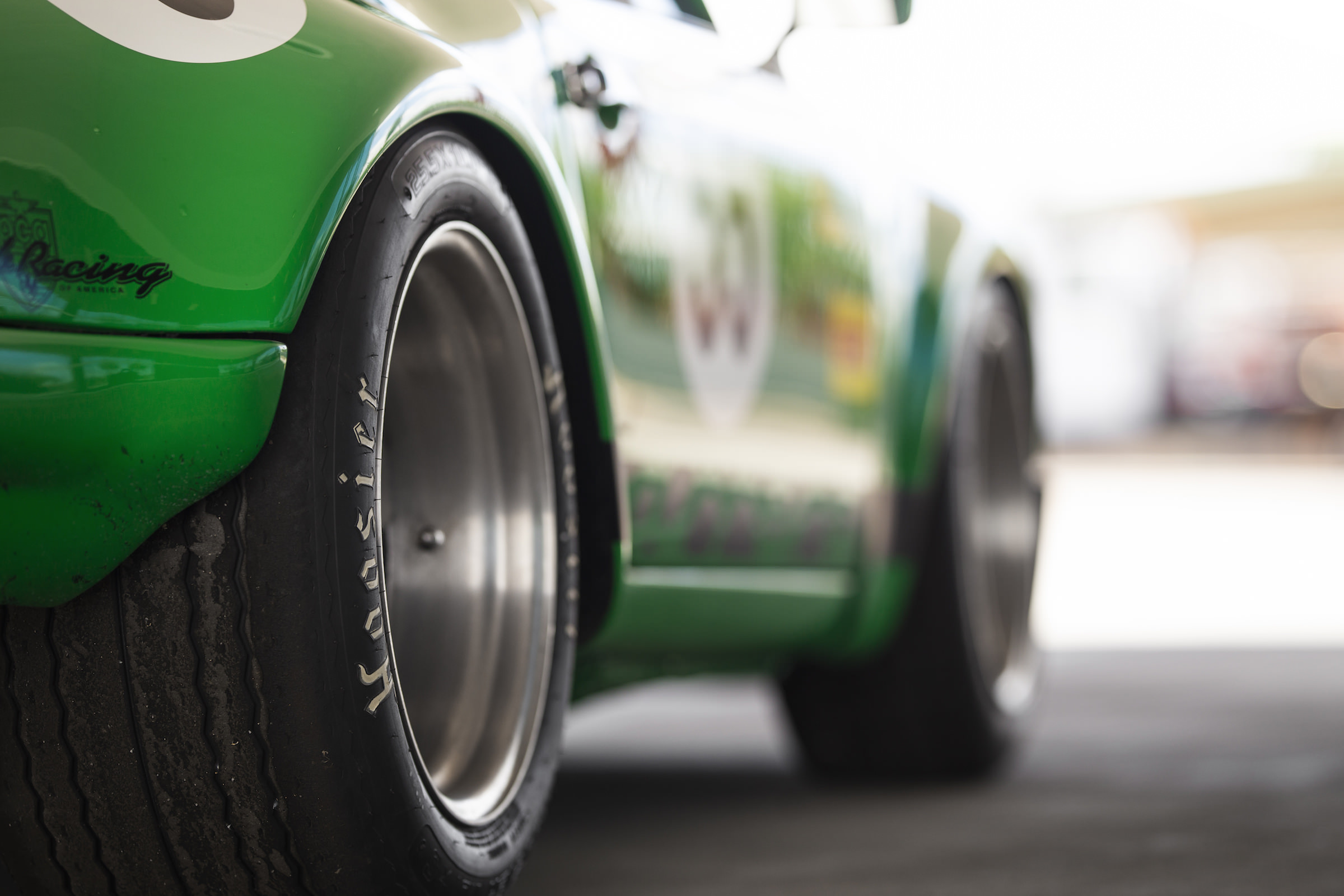 Custom Porsche 911 Race Car Wheels