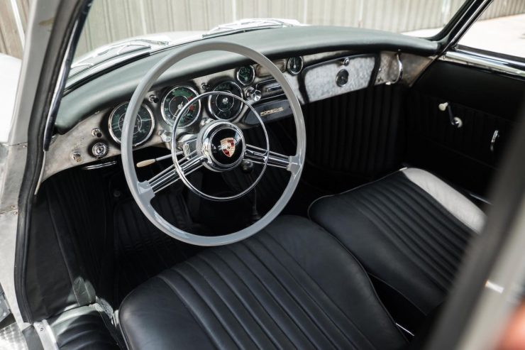 Dean Jeffries Porsche 356 Interior