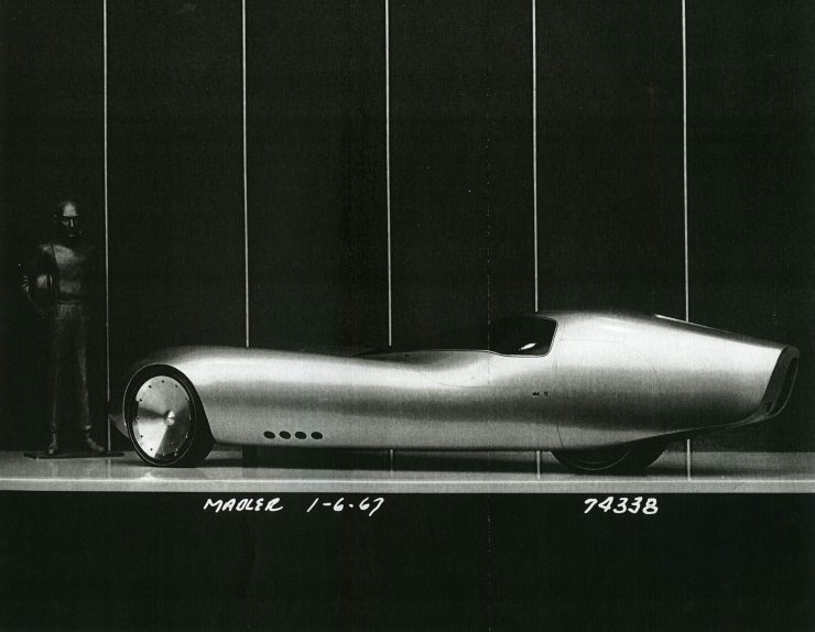 General Motors Three-Wheeler Designed By Peter Maier 1