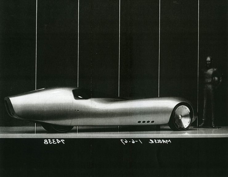 General Motors Three-Wheeler Designed By Peter Maier 4