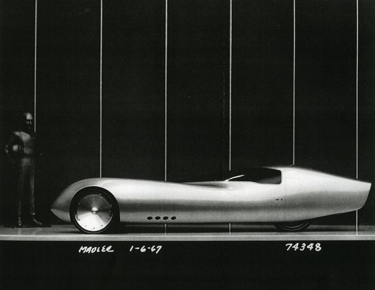 General Motors Three-Wheeler Designed By Peter Maier 6