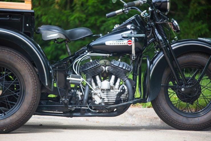 Harley-Davidson Servi-Car Flathead V-twin