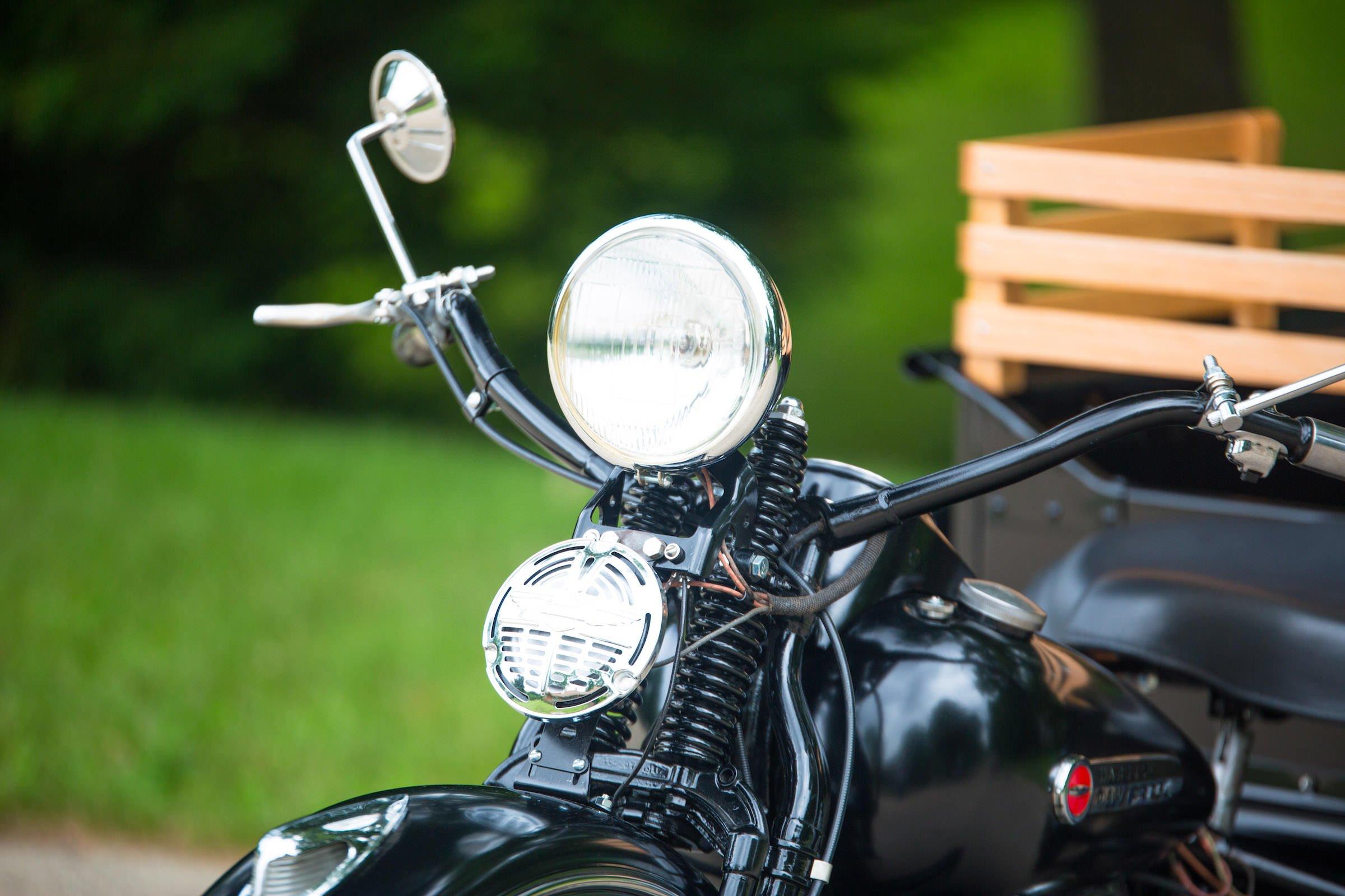 Harley-Davidson Servi-Car Headlight