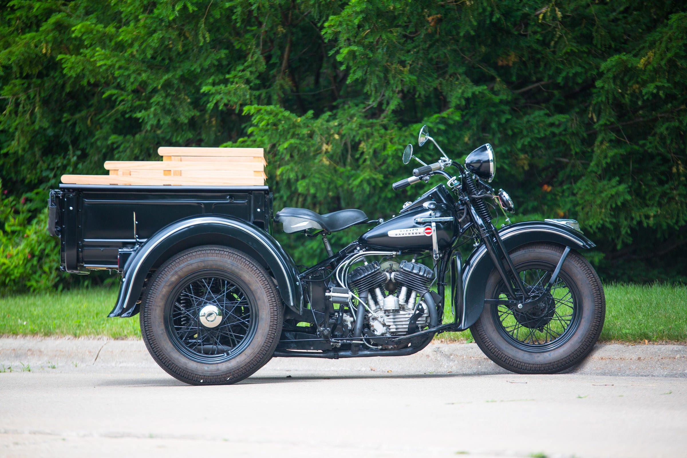 A Custom Harley Davidson Servi Car X Model T Ford