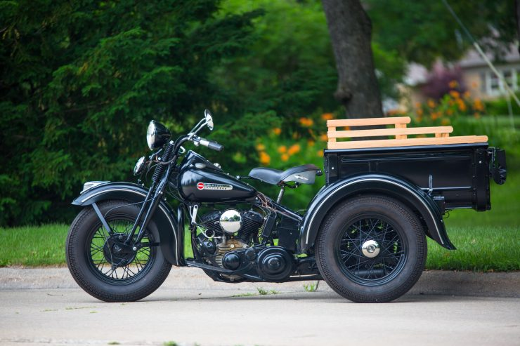 Harley-Davidson Servi-Car Side