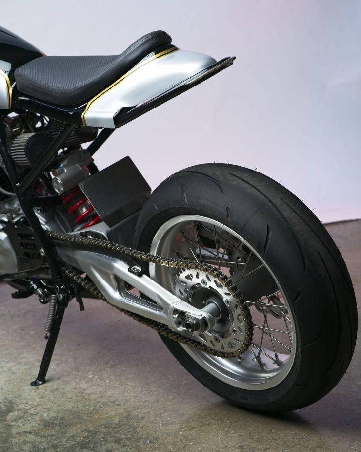 Honda XL600R Street Tracker 10