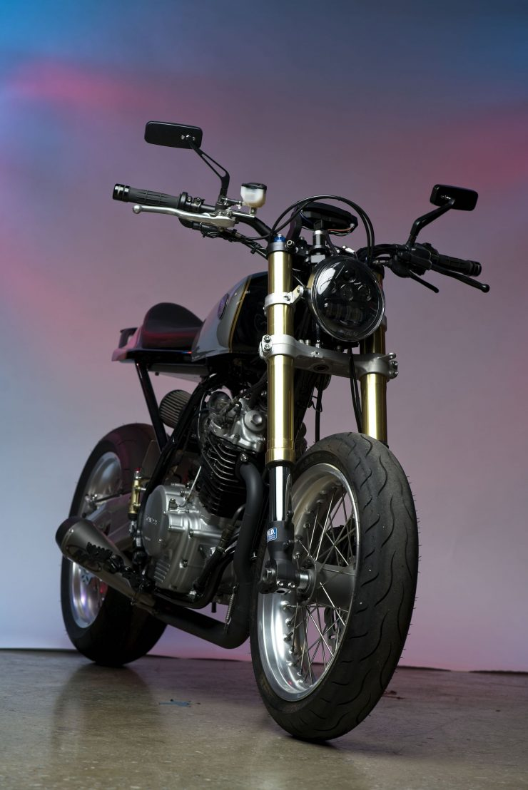 Honda XL600R Street Tracker 17