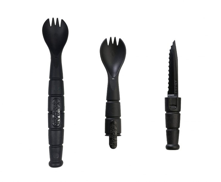 Ka-Bar Tactical Military Spork Details