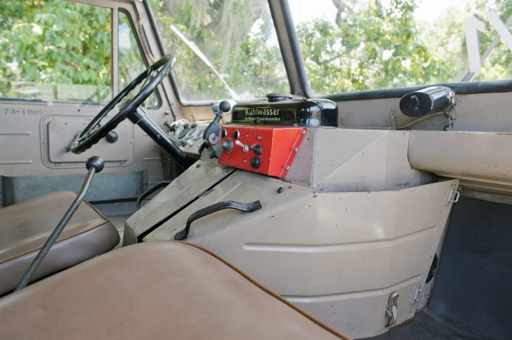 Mercedes-Benz Unimog Interior 1