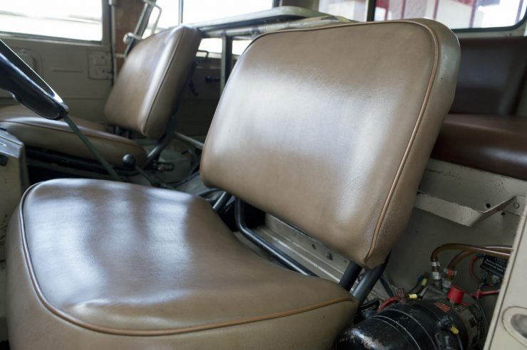 Mercedes-Benz Unimog Seats
