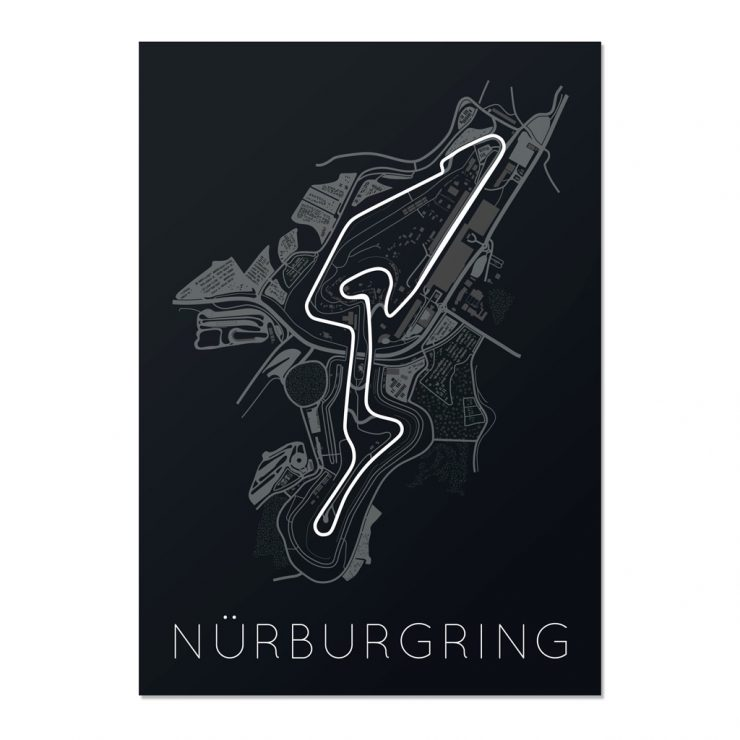 Nurburgring Track Map