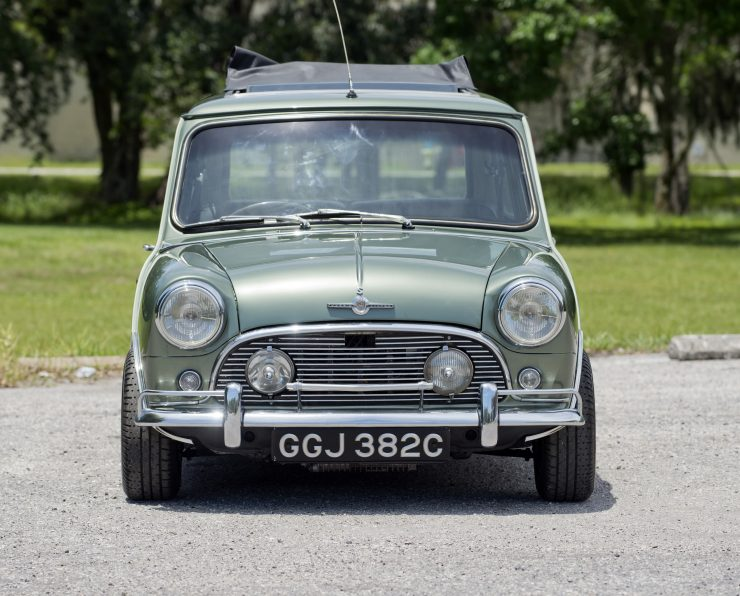 Paul McCartney Mini Cooper S Front