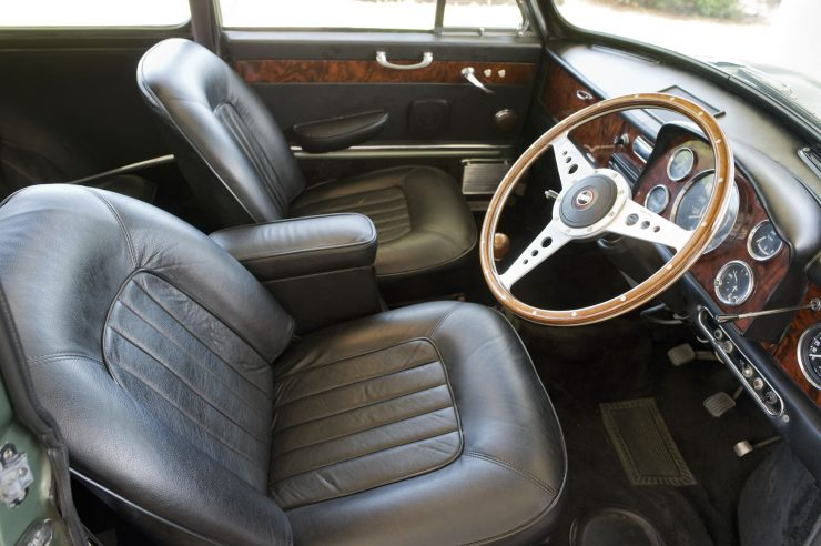 Paul McCartney Mini Cooper S Interior