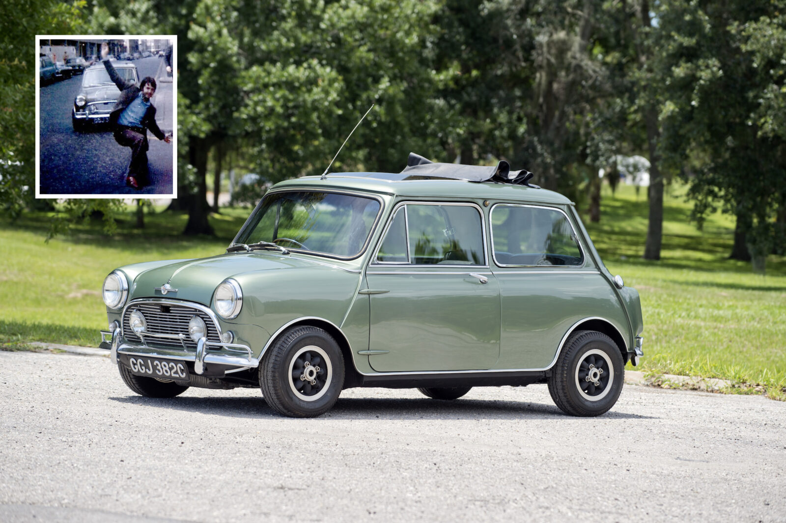Paul McCartney Mini Cooper S Main