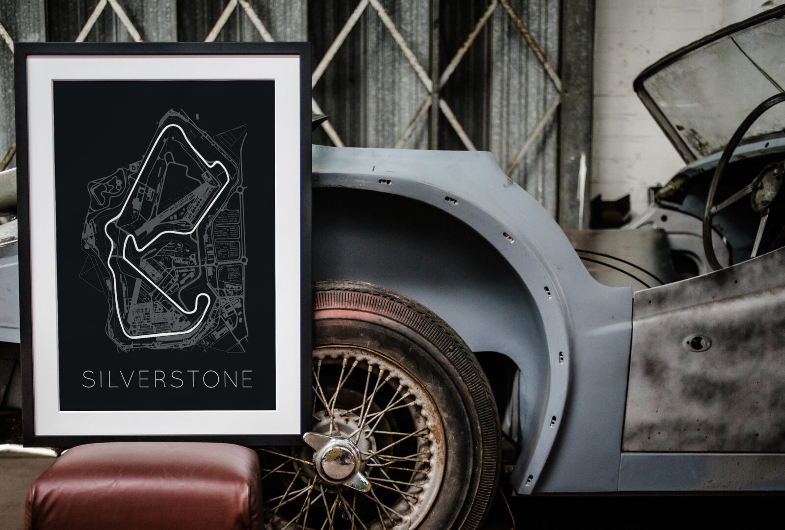 Rear View Prints F1 Race Tracks