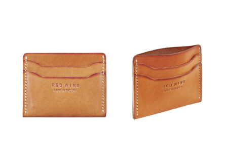 Red Wing Heritage Minimalist Wallet + Card Holder Front