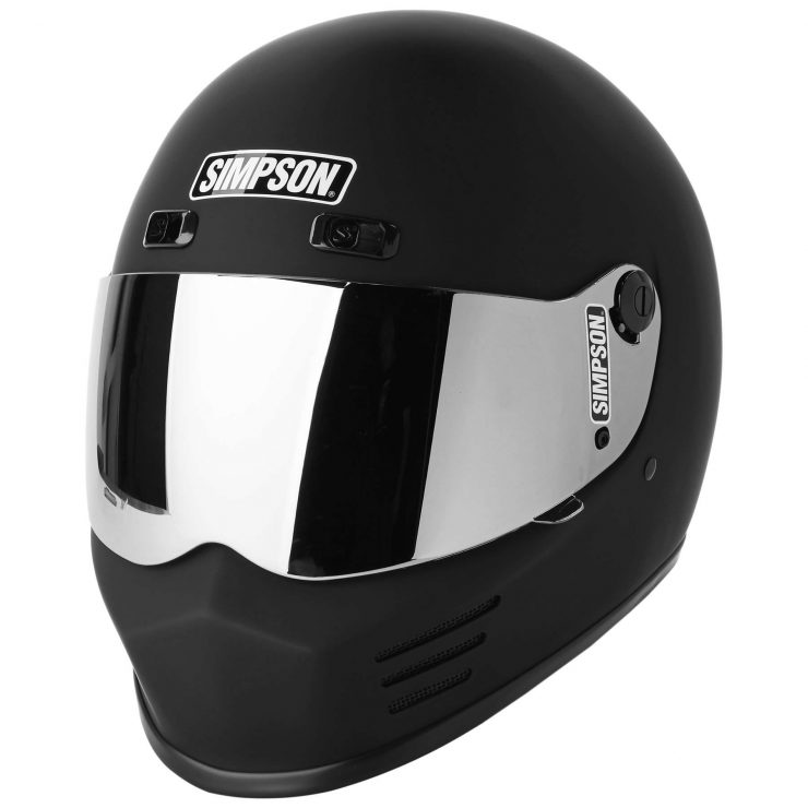 Simpson Street Bandit Helmet Mirror Visor