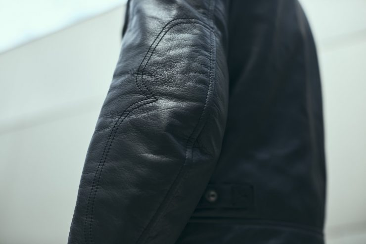 Spidi Rock Motorcycle Jacket - An Armored Italian Buffalo Leather Jacket 3