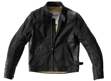 Spidi Rock Motorcycle Jacket - An Armored Italian Buffalo Leather Jacket