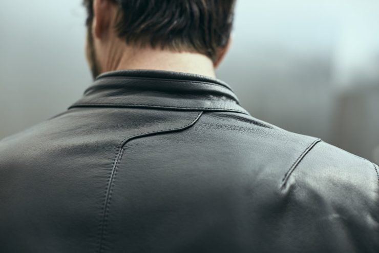 Spidi Rock Motorcycle Jacket - An Armored Italian Buffalo Leather Jacket 5