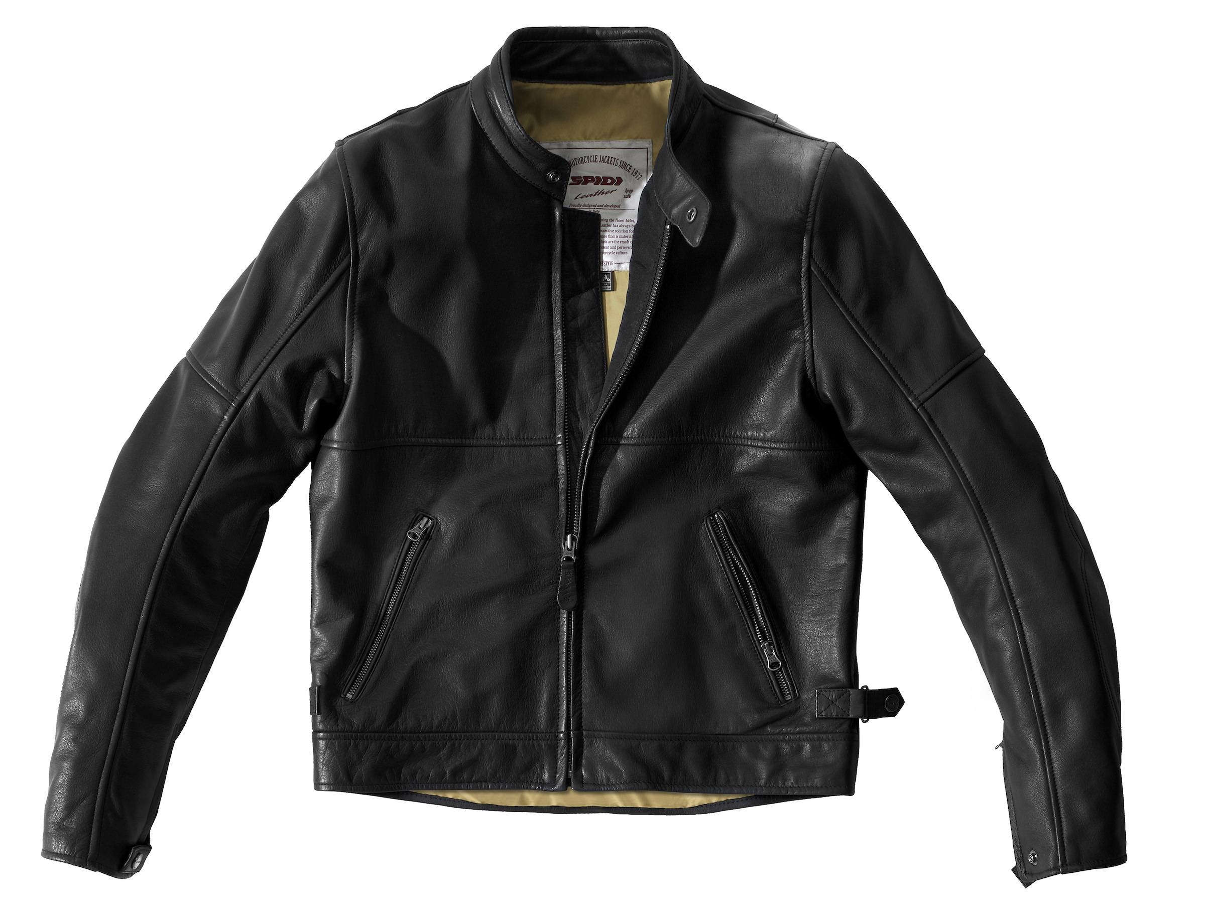 Spidi Rock Motorcycle Jacket - An Armored Italian Buffalo Leather Jacket