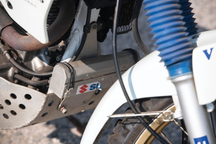 Suzuki DR650 Paris-Dakar Rally Bash Plate