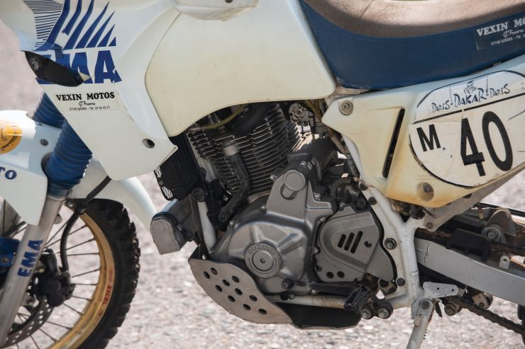 Suzuki DR650 Paris-Dakar Rally Engine