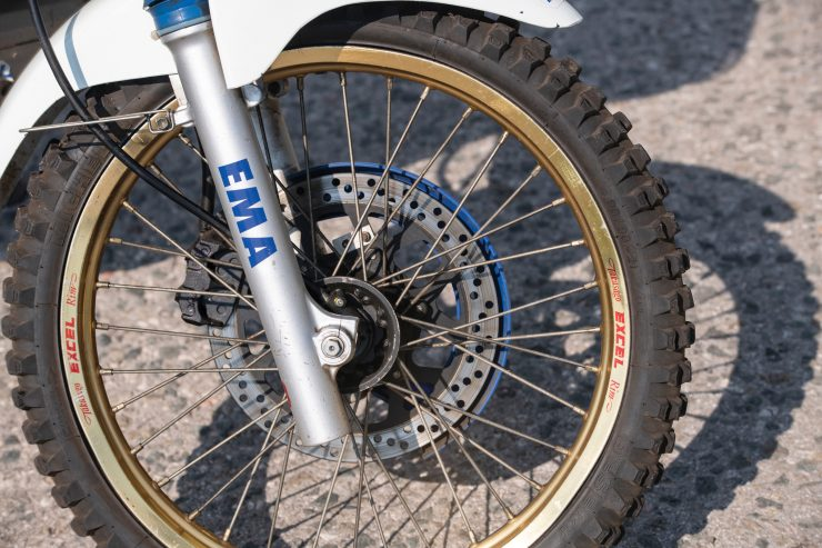 Suzuki DR650 Paris-Dakar Rally Front Wheel
