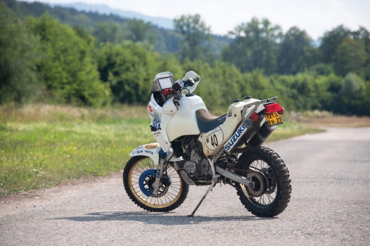 Suzuki DR650 Paris-Dakar Rally Rear