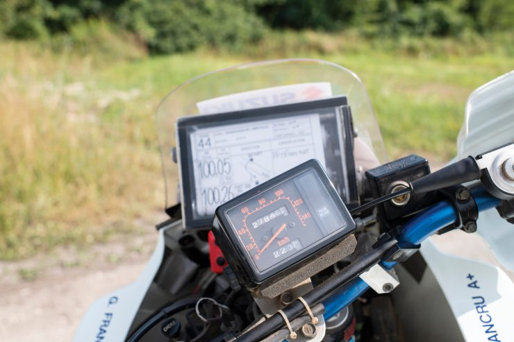 Suzuki DR650 Paris-Dakar Rally Road Book