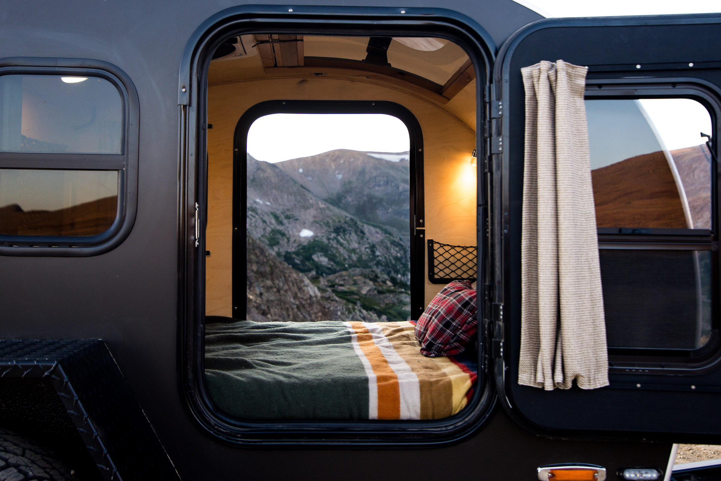 Timberleaf Pika Teardrop Camper Trailer Interior 2