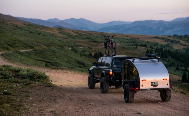 All about Timberleaf Teardrop Camper Trailer Silodrome