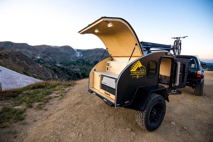Timberleaf Pika Teardrop Camper Trailer Kitchen 2