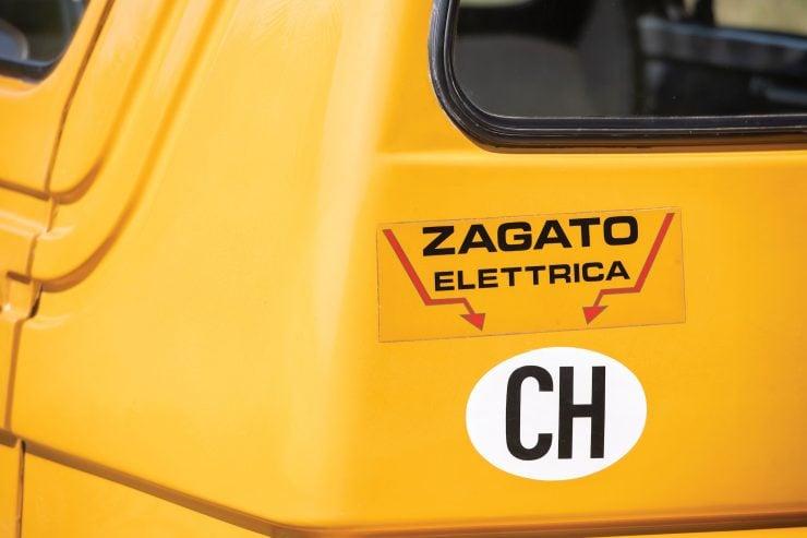 Zagato Zele 1000 Back