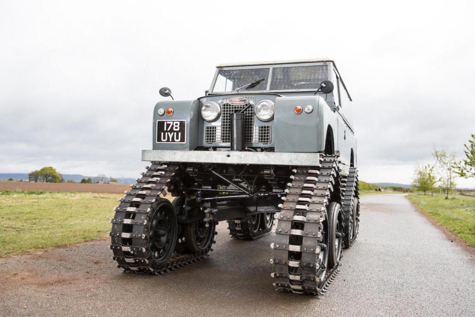 Tracked Cuthbertson Land Rover