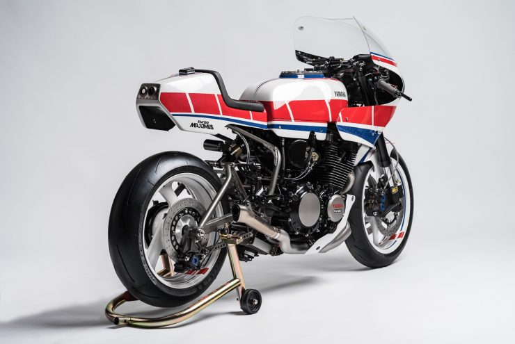 Yamaha Turbo Maximus Motorcycle Back