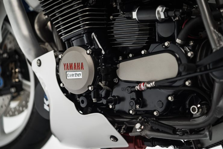 Yamaha Turbo Maximus Motorcycle Engine