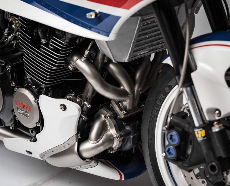 Yamaha Turbo Maximus Motorcycle Intercooler
